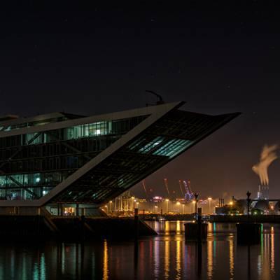 Hafengelände in Hamburg
