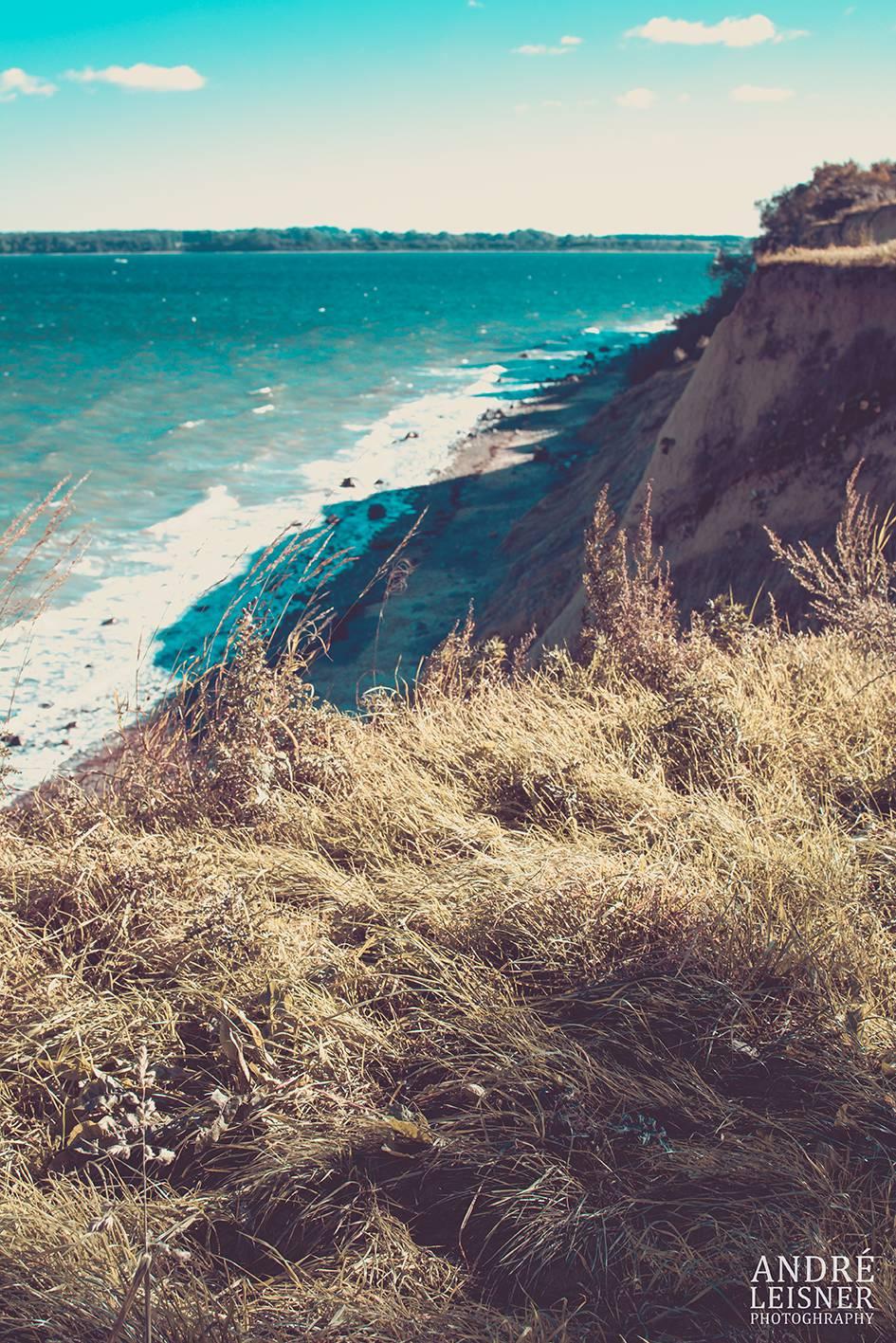 Steilhang Küste