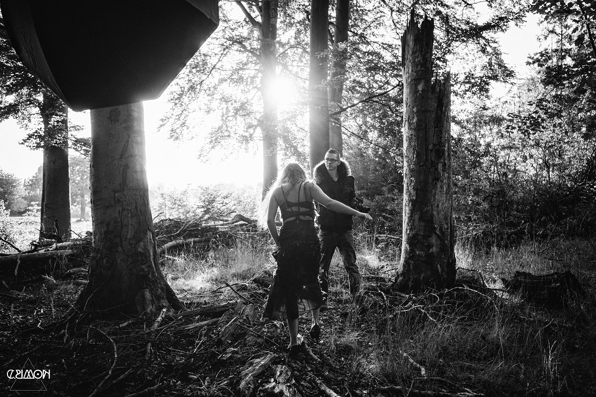 Shooting im Wald