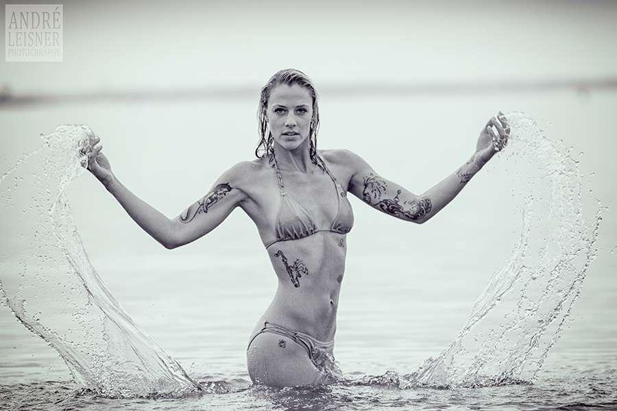 Portrait im Wasser
