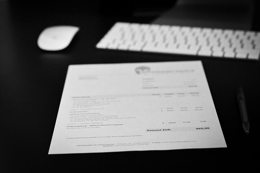 Angebote an Kunden schreiben