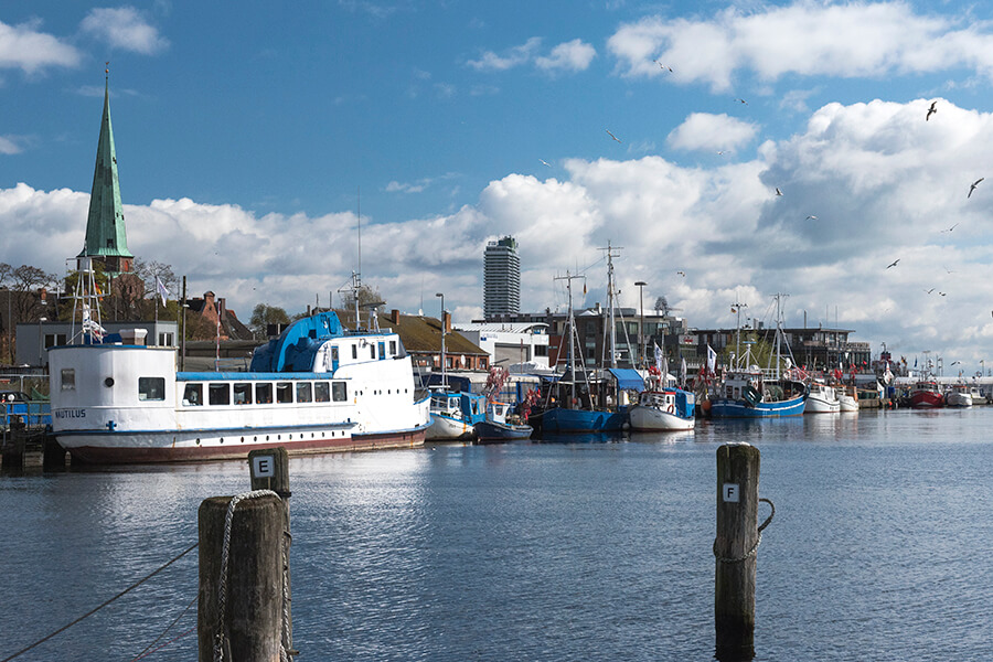 Fischerei Hafen Travemünde