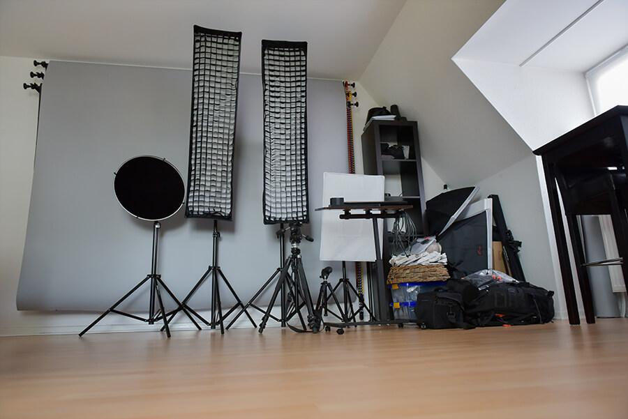 Fotostudio zu Hause einrichten