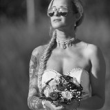 Braut Sonnenbrille
