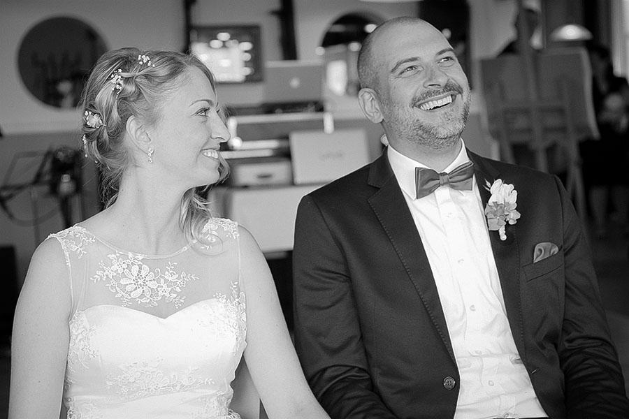 Spaß bei der Hochzeit