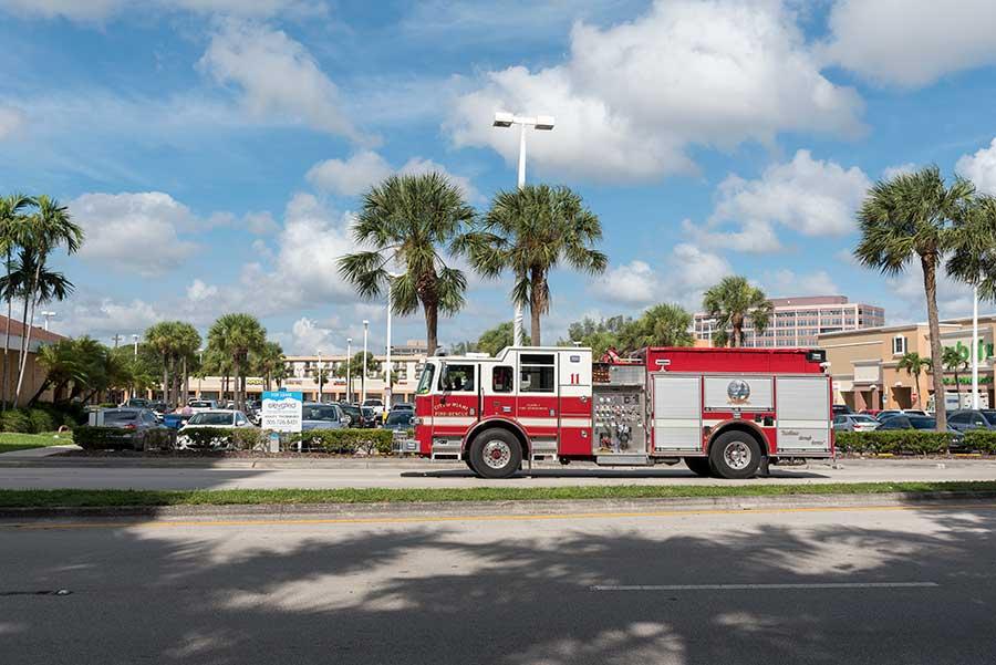 Feuerwehr in Miami