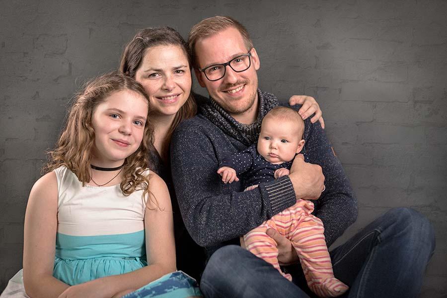 Familienportrait in Lübeck