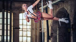 Pole Dance Shooting in der Gollan Kulturwerft