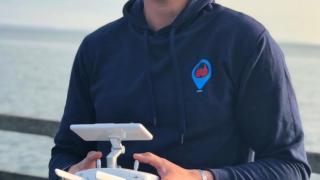Drohne ruhig kontrollieren