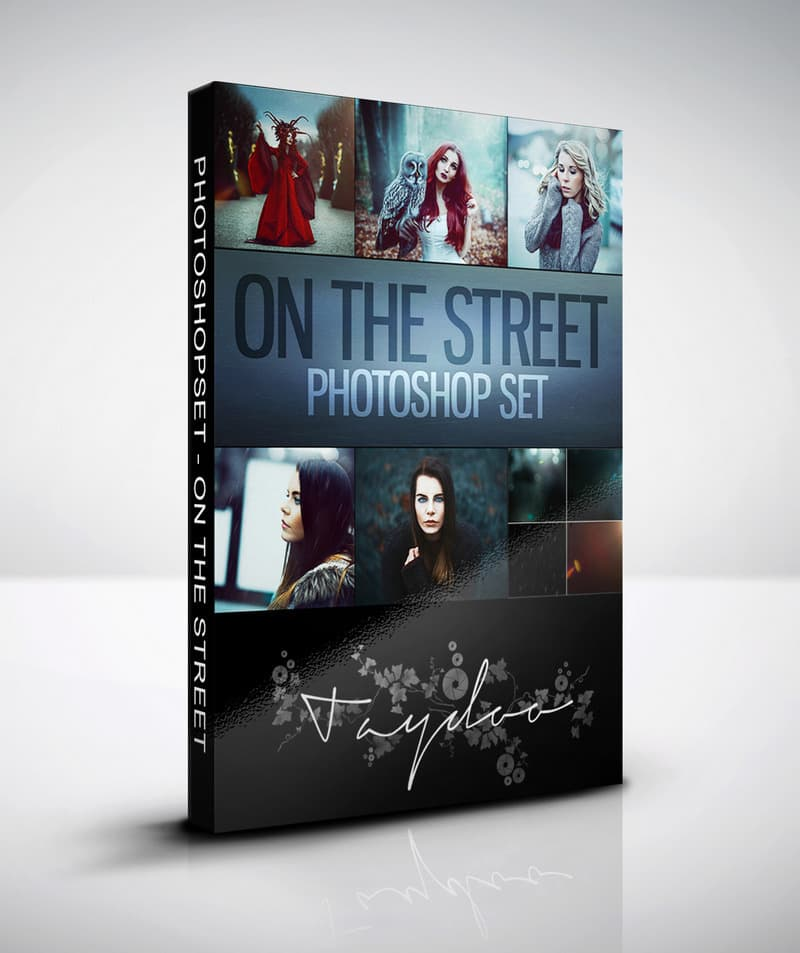 Werbung: Photoshop Set – On the Street - Bei Taydoo kaufen
