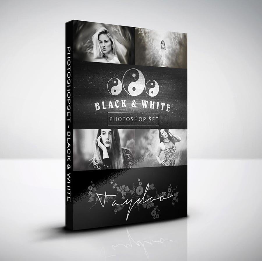 Werbung: Photoshop Set – Black & White - Bei Taydoo kaufen