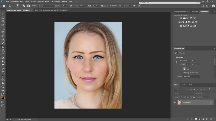 Anpassungen in Photoshop