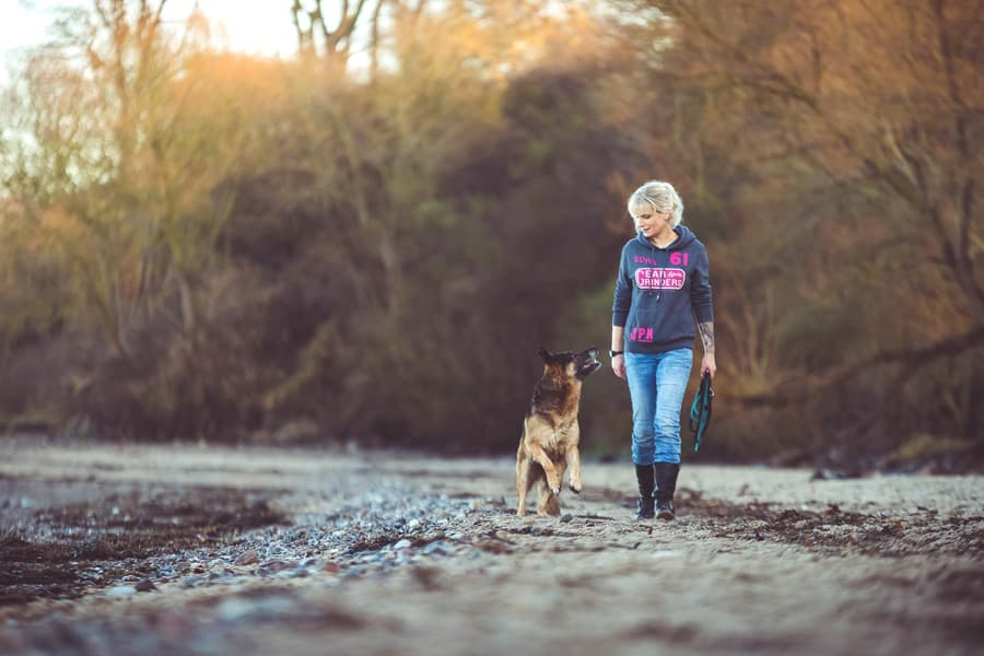 Ruhe ausstrahlen als Hundefotograf
