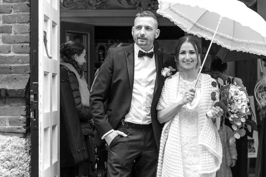 Bilder nach der Hochzeit
