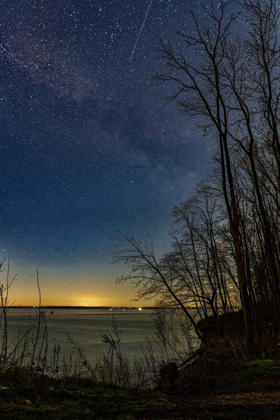 Kameraeinstellungen bei der Sternenfotografie