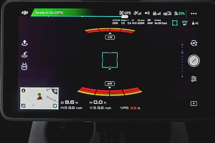 Schwarzes Liveview Bild