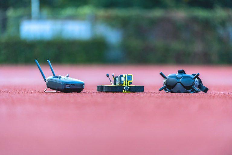 FPV Drohne fliegen