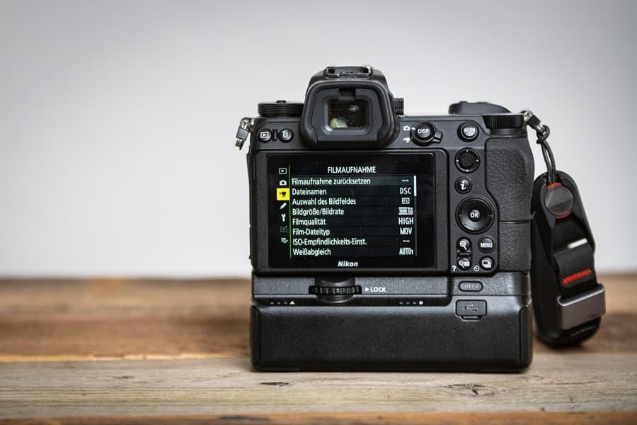 Menü der Nikon Z7