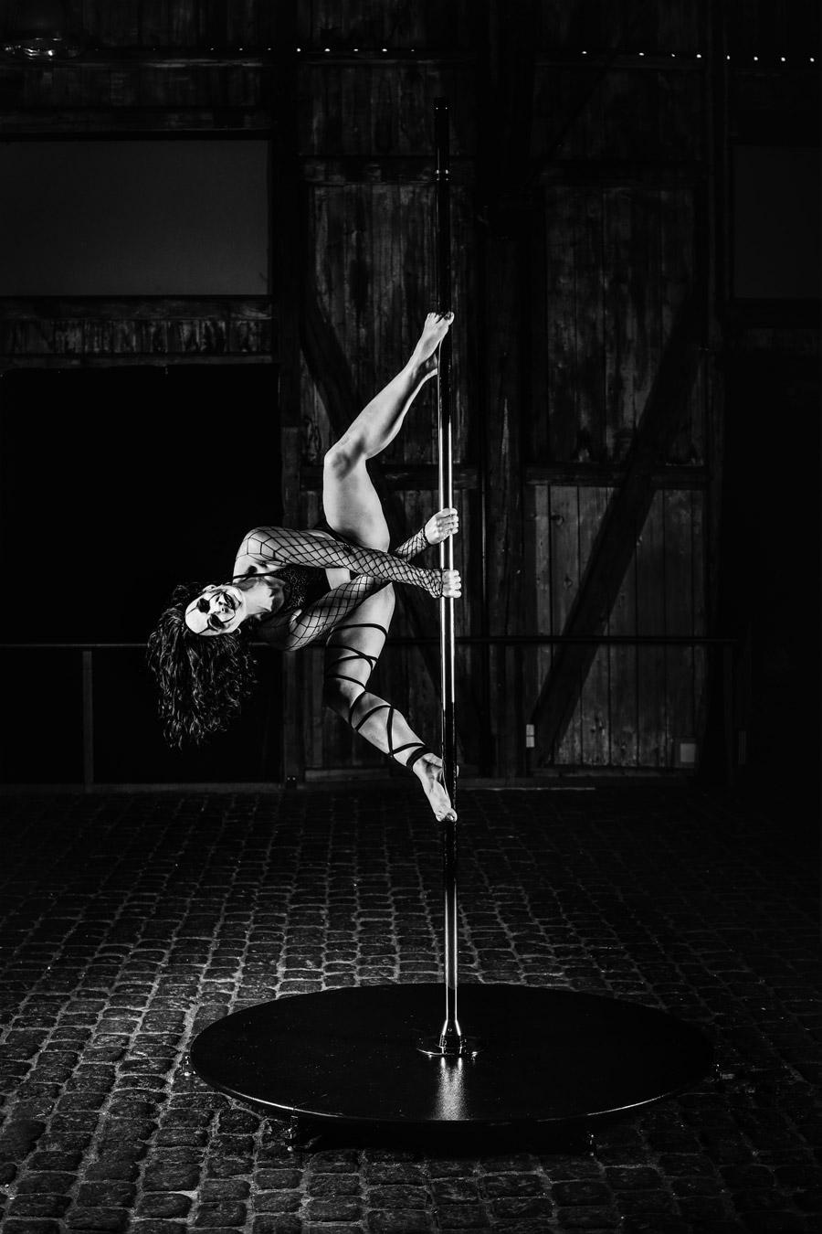 Gelungenes Pole Dance Shooting