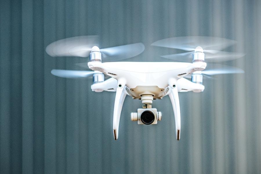 Quadcopter im Flug
