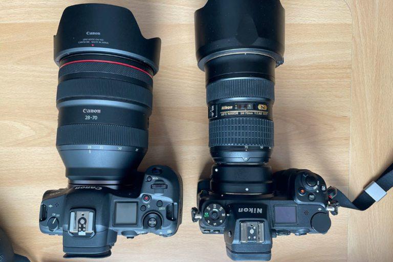 Systemwechsel: Von Nikon Z7 zu Canon R5