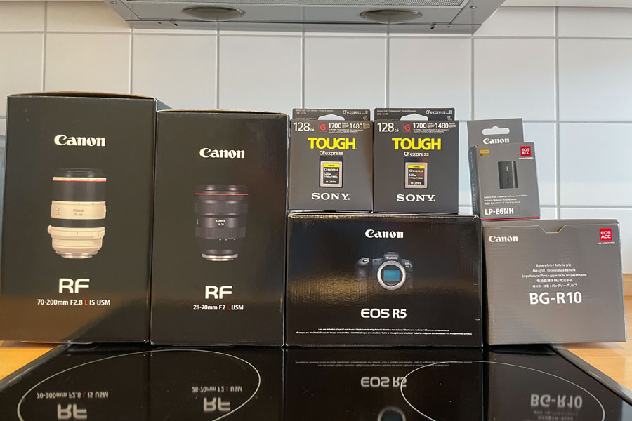 Was fehlt noch an Fotoausrüstung?