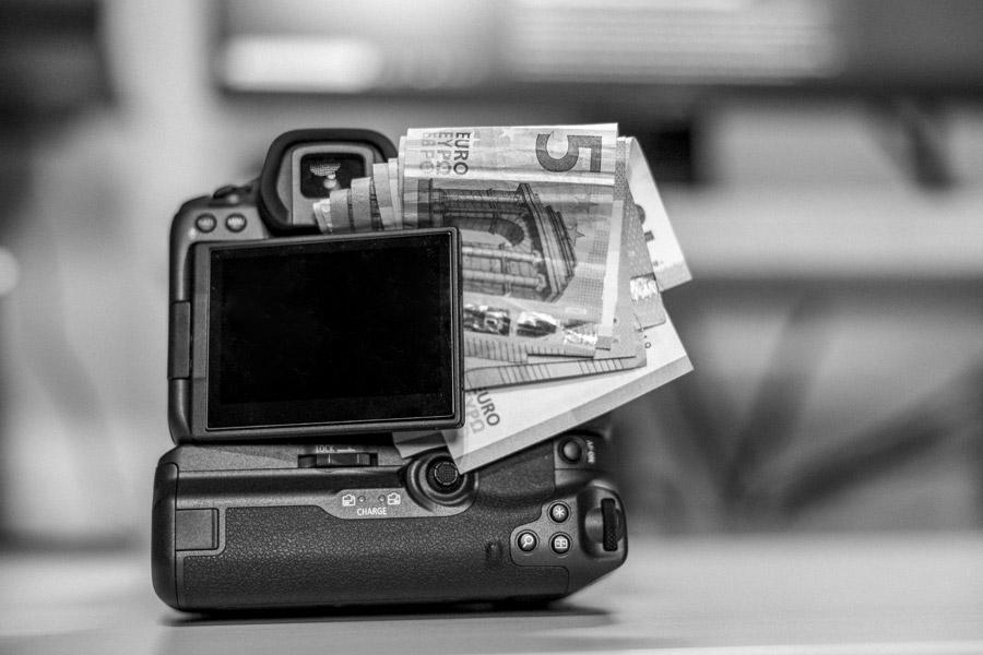 Geld verdienen als Fotograf